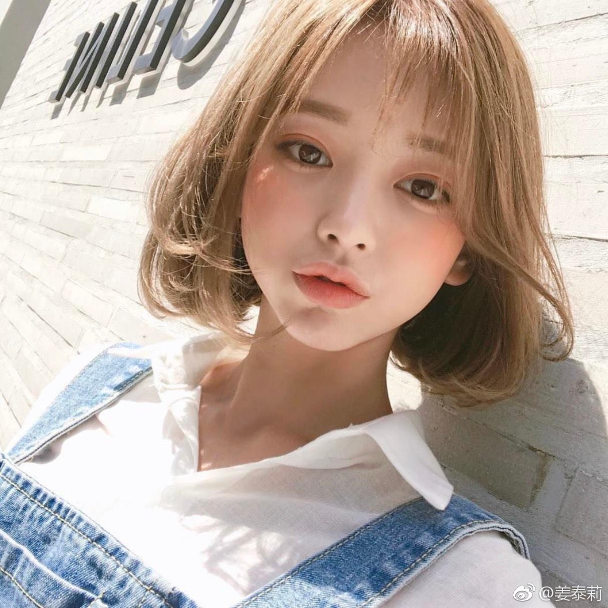 韩国美少女姜泰莉甜美可爱阳光私房照