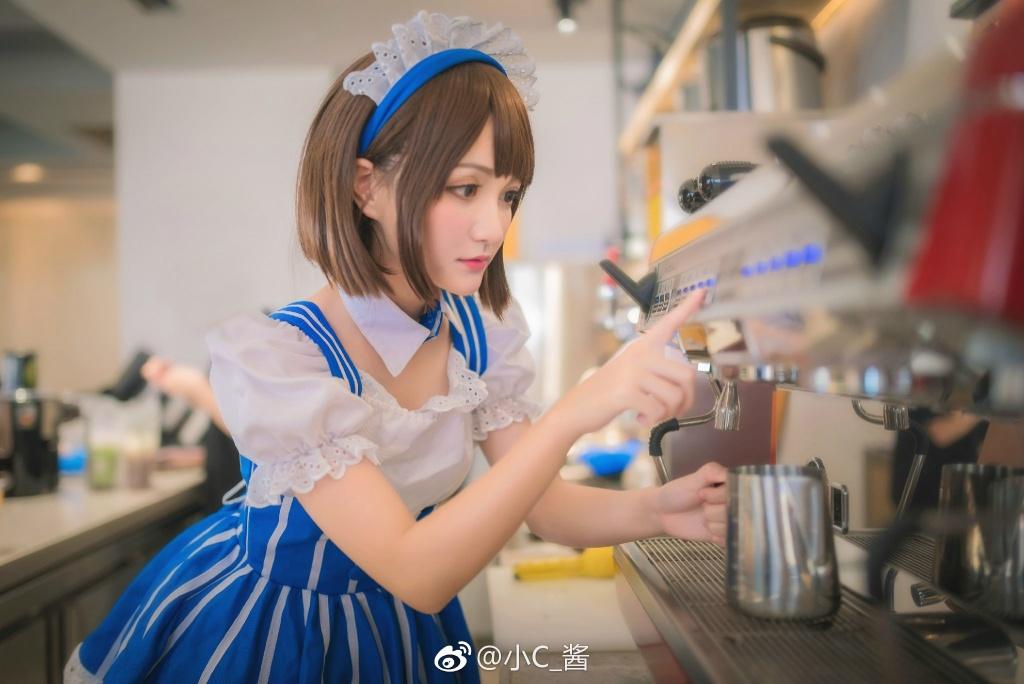 动漫博主cos加藤惠 清纯可爱甜美写真图片