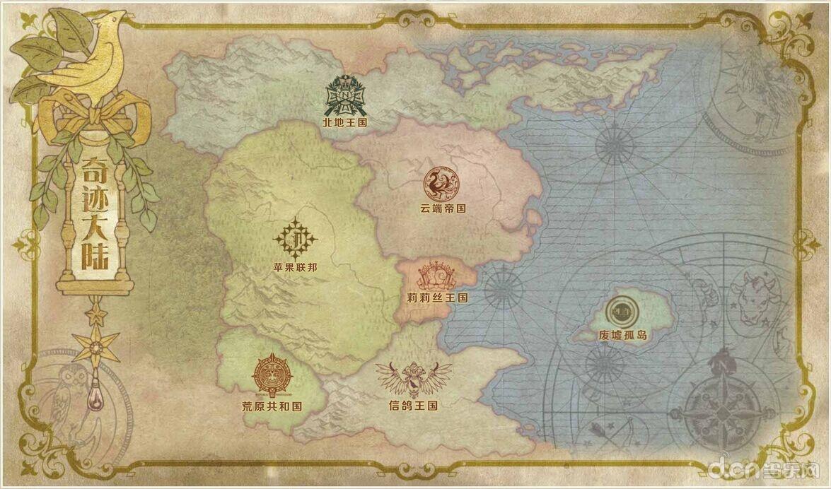 全新的世界背景 穿越到奇迹大陆