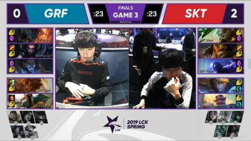 2019lck春季赛4月13日GRF vs SKT直播比赛 GRF vs SKT第三场